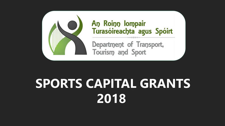 €207,072 Funding for 8 sports capital projects in County Limerick