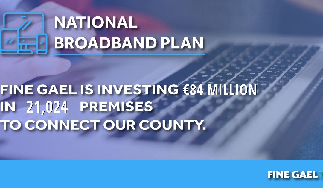 Government announces €84m to deliver high-speed broadband to County Limerick