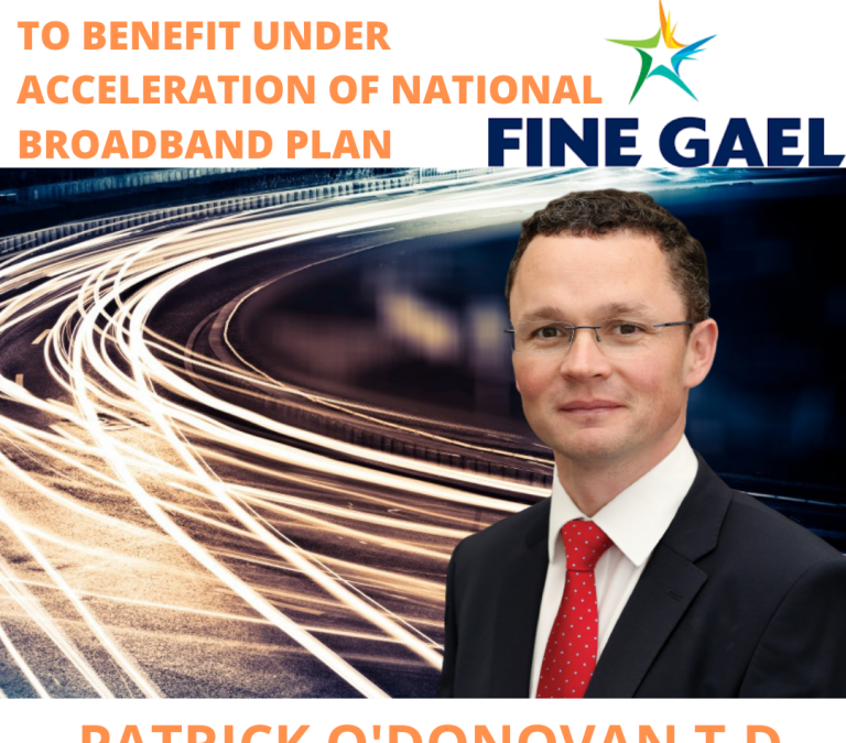 21 Schools in Limerick to benefit under acceleration of National Broadband Plan