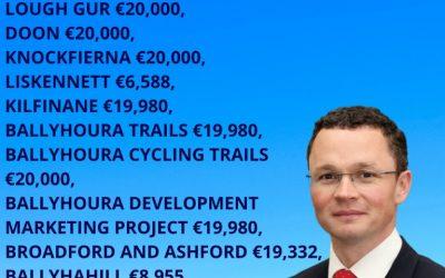 €175,000 for walkways for communities across Limerick