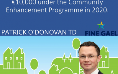 23 Limerick County projects received total funding of over €10,000 under the Community Enhancement Programme in 2020