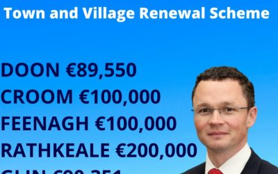 Over Half a Million for County Towns and Villages