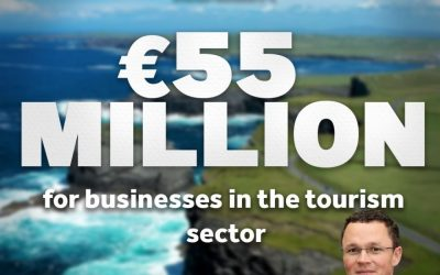 O'Donovan –  New investment by Fáilte Ireland will provide welcome boost for tourism business in Limerick
