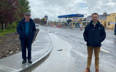 €608,000 BANOGUE TRAFFIC CALMING NEARING COMPLETION