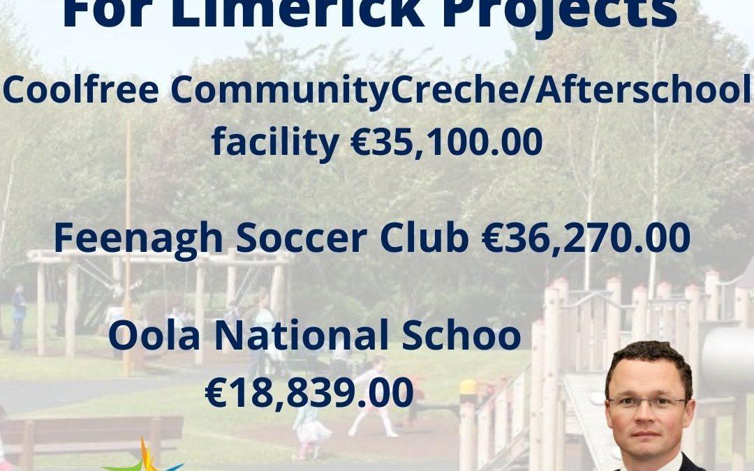 """O'Donovan: """"€90,209 for Feenagh, Ballyorgan and Oola"""""""