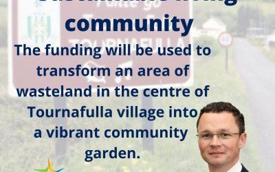€50,000 FOR TOURNAFULLA SUSTAINABLE LIVING COMMUNITY